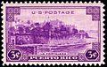 Puerto Rico La Fortaleza 3c 1937 issue.JPG