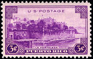 Puerto Rico on stamps - Puerto Rico territory 1937 issue