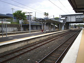 Corinda, Queensland - Corinda Railway Station