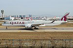 Qatar Airways, A7-ALF, Airbus A350-941 (32694966667).jpg