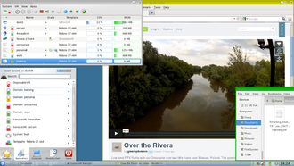 Qubes OS - Image: Qubes OS Desktop