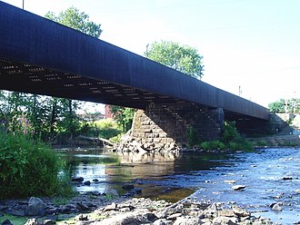 Bound Brook, New Jersey - Queen's Bridge over Raritan River, Bound Brook, New Jersey