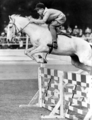 Queensland State Archives 5508 Hunter in action at the Royal National Show Brisbane c 1958.png