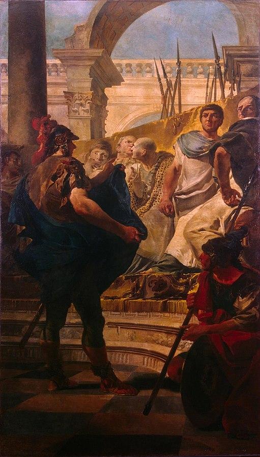 Quintus Fabius Maximus Before the Senate of Carthage