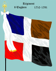 Image illustrative de l'article Régiment d'Enghien (1706)