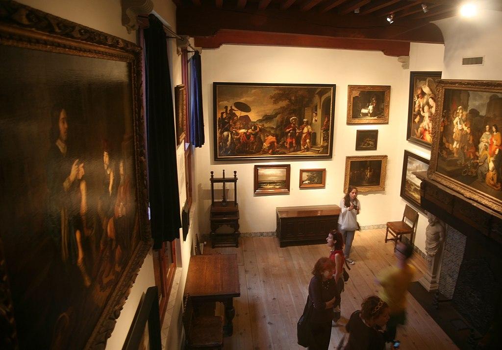 Dans le musée Rembrandt à Amsterdam - Photo de Bertknot