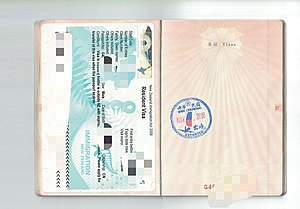 Visa policy of Taiwan - Wikipedia
