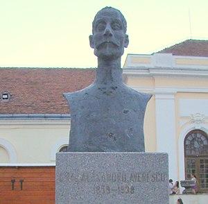 Alexandru Averescu - Bust of Alexandru Averescu in Alba Iulia
