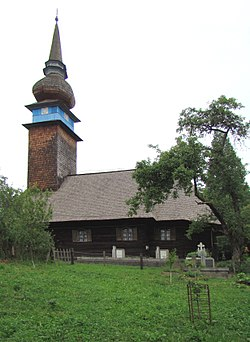 RO MM Laschia wooden church 10.jpg