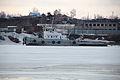 RT-460 breaks ice on Biya river.JPG