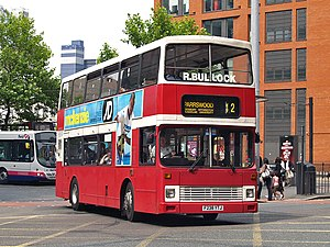 Bullocks Coaches - Walter Alexander RL bodied Leyland Olympian in Manchester on route 42 in July 2008
