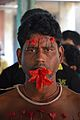 Rabin Ghughu - Forehead Pierced Gajan Sannyasi - Bainan - Howrah 2015-04-14 8005.JPG
