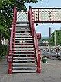 Railway footbridge, Ramsbottom station - geograph.org.uk - 813943.jpg