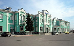 Atkarsk railwey station