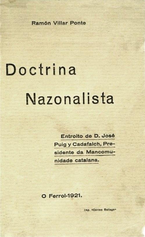 Doctrina Nazonalista, 1921.