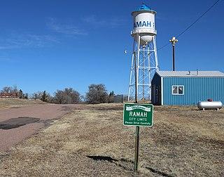 Ramah, Colorado Town in Colorado, United States