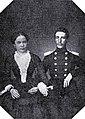 Ramuald Traŭgut, Hanna Pikiel. Рамуальд Траўгут, Ганна Пікель (07.1852).jpg