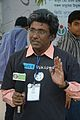 Rangan Datta - Doordarshan Interview - Wikimedia Stall - 38th International Kolkata Book Fair - Milan Mela Complex - Kolkata 2014-02-07 8482.JPG