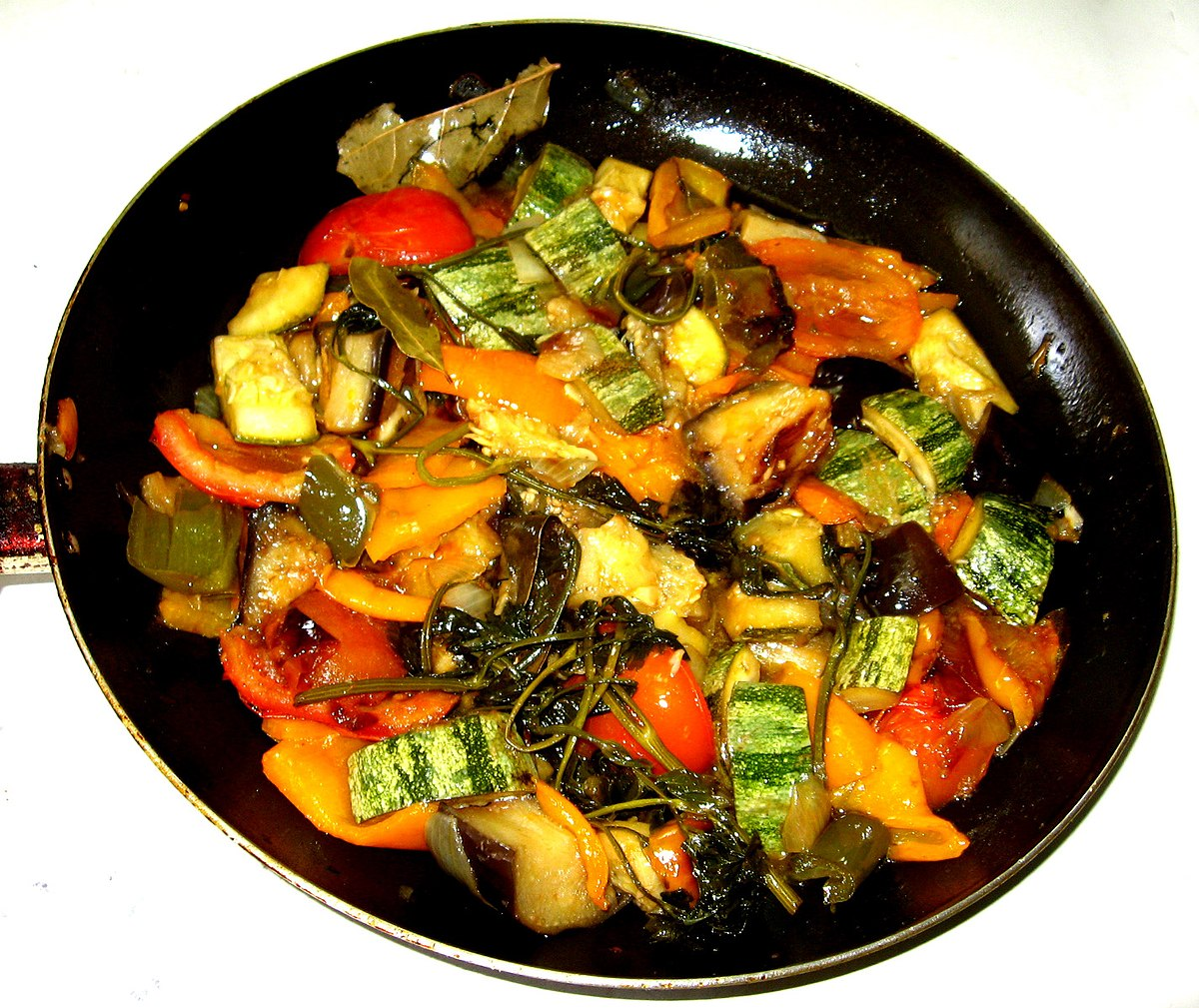 Ratatouille wikipedia for French starters vegetarian