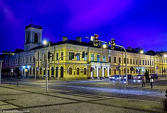 Suwałki - Town hall, built in 1844