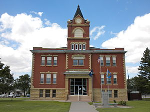 Rawlins County, Kansas - Image: Rawlin Co KS Courthouse