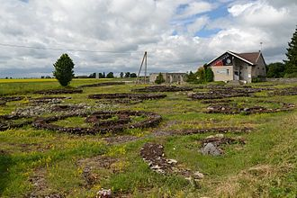 Rebala Heritage Reserve - Stone cist graves next to the museum
