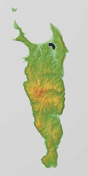 Rebun Island - Relief Map