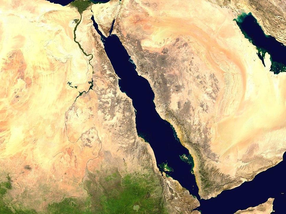 Red Sea 37.95521E 21.41271N