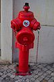 Red fire hydrant in Lisbon 02.jpg