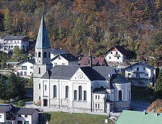 Reichraming - Image: Reichraming Pfarrkirche Oberer Kirchenberg (01)