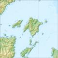 Relief Map of Shantar Islands.png