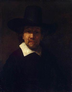 Jeremias de Dekker - Rembrandt: Portrait of Jeremias de Dekker