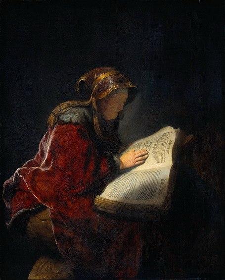 Rembrandt prophet hannah