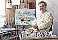 René Margotton dans son atelier à Paris Mai 1970.jpg