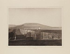 Le Réservoir de Grosbois, Côte-d'Or en 1885