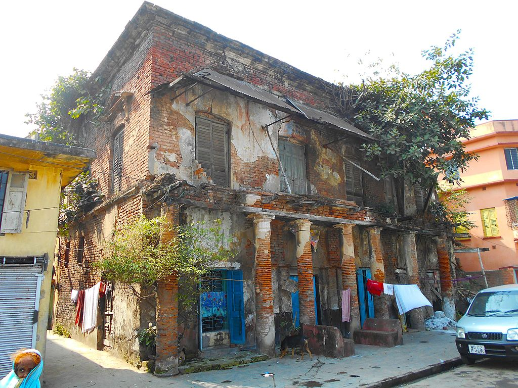 House of Poet Hemchandra Bandopadhay. (Photo – Indrajit Das)
