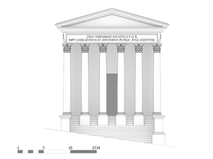 Restitution temple vespasien face.png