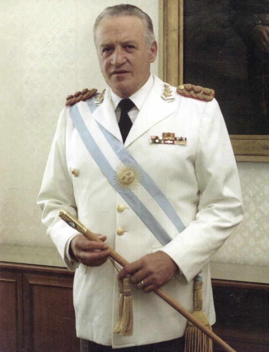 Retrato Oficial Galtieri