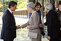 Reunión privada del Presidente de los Estados Unidos Mexicanos, Lic. Enrique Peña Nieto, y su esposa la señora Angélica Rivera de Peña, con Su Majestad Akihito, Emperador de Japón, y la Emperatriz Michiko (8631977764).jpg