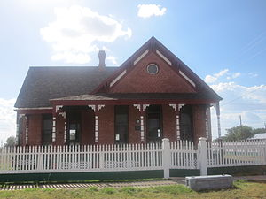 Channing, Texas - XIT Ranch General Office in Channing
