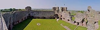 Rhuddlan Castle - Image: Rhuddlan Castle 9