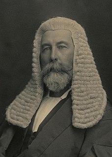 Richard Edward OConnor Australian politician and judge, born 1851