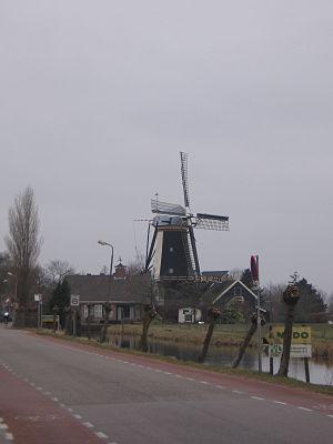 Benthuizen - Windmill De Haas
