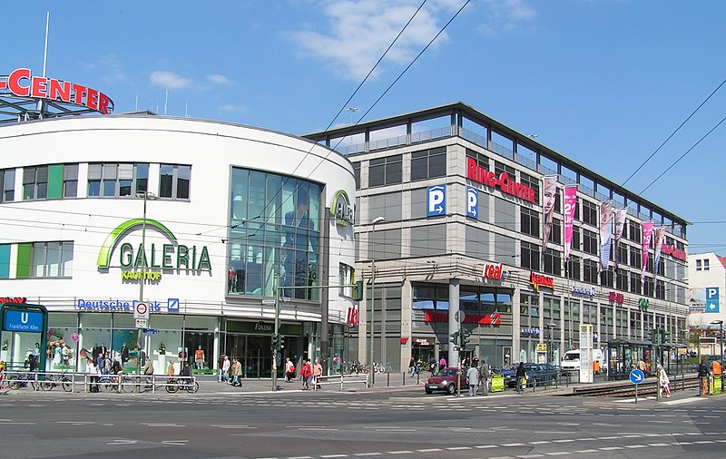 Frankfurter Allee Ring Center Mono Cafe