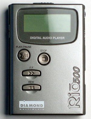 Rio (digital audio players) - Rio 500