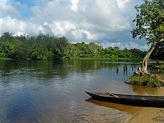 Monagas - Morichal Largo river.