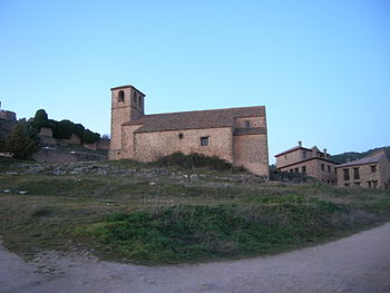 Riopar Viejo Albacete Espa%C3%B1a Spain Iglesia del Espiritu Santo
