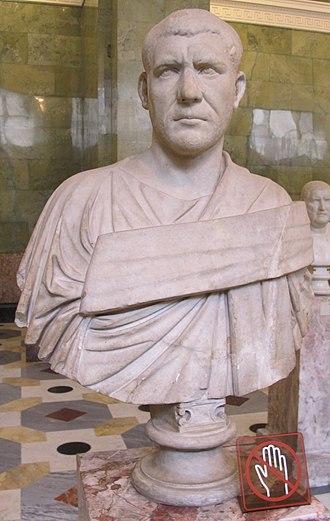 Philip the Arab - Image: Ritratto di filippo l'arabo, 244 249