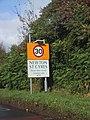 Roadside by Newton St Cyres - geograph.org.uk - 1016578.jpg