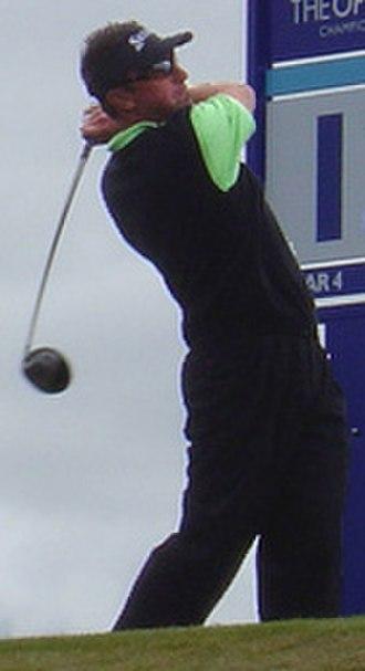 Robert Allenby - Image: Robert Allenby 2004 Open Championship cropped